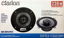 "NEW Clarion SRG1323R Coaxial 5-1/4"" Car Audio Speakers, 5.25"" (1 PAIR)"