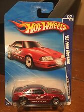 2010 Hot Wheels HW Performance '92 Ford Mustang #105