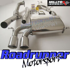Milltek Audi S3 8P Exhaust 2.0T Quattro 3 Door Turbo Back Res Inc Decat Downpipe