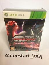TEKKEN TAG TOURNAMENT 2 WE ARE TEKKEN LIMITED COLLECTOR'S EDITION XBOX 360 - NEW
