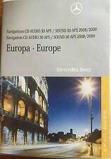 MERCEDES-BENZ CD-SET  Europa AUDIO 30 APS VERS 10.1   A,C,CLK M SLK bis 2004 u.a