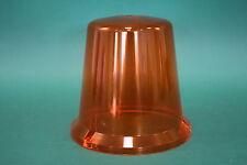 Rundumleuchte DDR gelb orange Kappe Glocke Glas 8561.5 FER-Ruhla RKL NEU ZT300