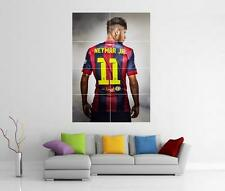 NEYMAR JR BARCELONA BARCA BRAZIL GIANT WALL ART PHOTO PRINT POSTER