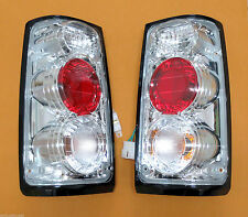 Chrome altezza tail lights rear lamp taillight for Holden Rodeo TF 88-97 pickup