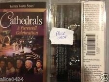The Cathedrals A Farewell Celebration Gaiher Gospel Series cassette New