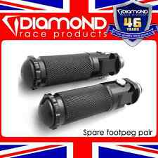 DIAMOND RACE PRODUCTS - FOLDING FOOTPEGS FOOT PEGS PAIR M8 BOLT FOR REARSETS