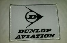 089 Dunlop Aviation Embroidered Cloth Patch - Unused - Aeropsace Wheels & Brakes