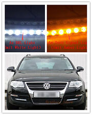 2PC 9 LED DRL Driving Daylight Daytime Running Safety Turn Signal Lamp For Honda