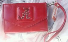 ALABAMA CRIMSON TIDE WOMENS TRI FOLD WALLET SABAN BEAR BRYANT