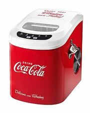 Nostalgia Electrics Coca-Cola Series Ice Maker ICE100COKE 26 lbs. Of Ice Per Day