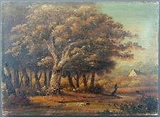 Antique Oil Painting Vintage Original Ancien Tableau Peinture Huile