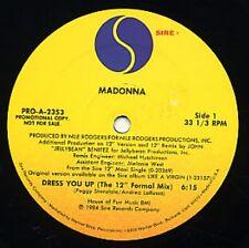 """Madonna Dress You Up (12"""" Formal Mix)  Dj 12"""""""