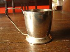 origineller Silberbecher Teeglashalter Teelichthalter kleine Jardiniere silber