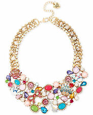 BETSEY JOHNSON 'Princess Charming' Cat Mouse Crown Shoe Bow Collar Necklace $195