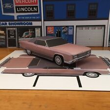 Papercraft 1970 Lincoln Continental Coupe PaperCar EZU-MakeIt Toy Model Car