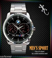 New BMW X5 M3 M4 Series Speedometer Mens Watch Sport Metal Watch