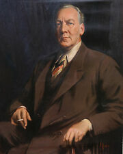 JAMES PETER QUINN 1869-1951 AUSTRALIAN ART MALE  PORTRAIT OIL PAINTING  ART 1929