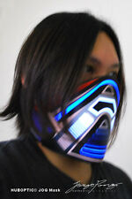 JOG Mask - Rave Mask DJ Mask LED Party mask for gigs robot dance cosplay costume