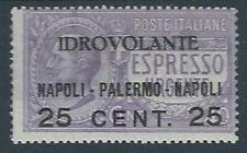 1917 REGNO POSTA AEREA NAPOLI PALERMO MH * - RR12890-2