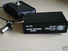 RARE Item - Vintage RETEN ACOUSTICS NEWPORT RA214 Sound Exposure Meter