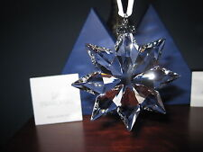 Swarovski Crystal 2013 Annual Christmas LARGE STAR Snowflake Ornament