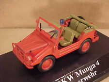 Starline Models 1/43 Diecast DKW Munga 4 Open Fire Vehicle w/LHD  #609824