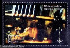 Dominica MNH, Concept of Efficiency brought industrial Revolution - In07