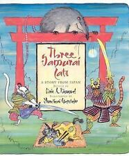 Three Samurai Cats: A Story from Japan-ExLibrary