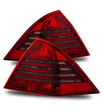 Fit 01-03 Mercedes Benz W203 C230 C240 C320 C32 Red Smoked LED Tail Lights Lamps
