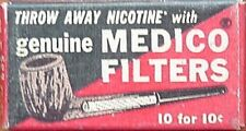 OLD BOX OF MEDICO PIPE FILTERS (MEDICO PIPES, INC.