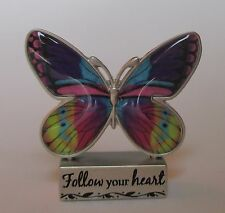 j Follow your Heart BUTTERFLY BLESSINGS FIGURINE ganz inspirational message