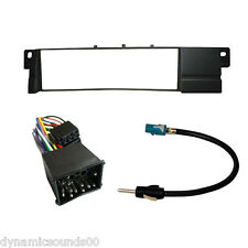 Car CD Stereo Radio Fascia ISO Aerial Fitting Kit For BMW 3 Series E46 1999-2004
