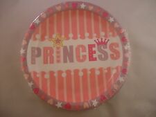Princess 18 ct Paper Plates Perfect for Girl's Birthday Sweet Sixteen Kids Party