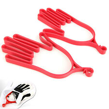 1 Pair Durable Outdoor Sport Plastic Golf Gloves Mitten Holder Rack Stretcher