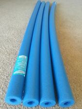 Lot 4 x Blue Pool Noodle swimming noodle water foam, craft, fishing & therapy