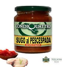 Sugo al Pescespada, specialità artigianale siciliana - Condiquattro