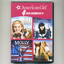 4 American Girl movies, new 4-disc DVD set Kit Kittredge Samantha Molly Felicity