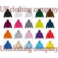 Adult SG Heavy Blend Hooded Sweatshirt - Plain Hoodie Blank Pullover