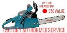 MAKITA DCS34 33cc 2-Stroke Gas Powered Chainsaw EXTRA BAR + CHAIN FULL WARRANTY!
