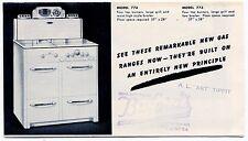 """Vintage """"GAFFERS & SATTLER"""" Sales Brochure: GAS RANGES"""