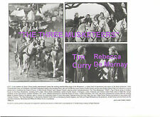 THE THREE MUSKETEERS CHARLIE SHEEN OLIVER PLATT KIEFER TIM CURRY DE MORNAY PHOTO