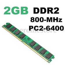 PC2-6400 DDR2-800 MHZ DIMM RAM 240 pins Memoria Memory PC Desktop Sobremesa AMD