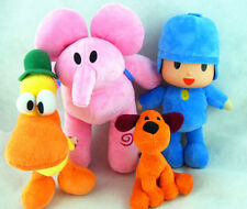 Cute Pocoyo Elly Pato Loula Kid Plush Toy Figure Set Soft Toy Doll Birthday Gift