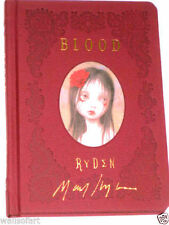 MARK RYDEN *HAND SIGNED BLOOD BOOK IN GOLD INK ON COVER