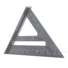 Aluminum Alloy Speed Square Protractor Miter Framing Measurement For Carpenter