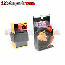 DERESTRICTED RACING CDI IGNITION COIL HONDA SPREE NQ50 AERO NB50 ELITE SA50 CH80