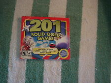 201 Solid Gold Games (PC Games, 2002)  Rated E for Everyone