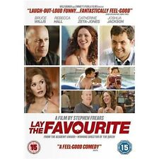 LAY THE FAVOURITE STEPHEN FREARS BRUCE WILLIS CATHERINE ZETA JONES E1 UK DVD NEW