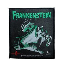 """Frankenstein"" Hammer Horror Films Monster Movie Classic Sew On Applique Patch"