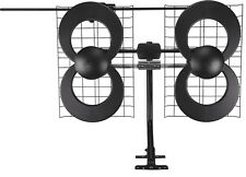 Open-Box: Antennas Direct - ClearStream 4V Indoor/Outdoor HDTV Antenna - Blac...